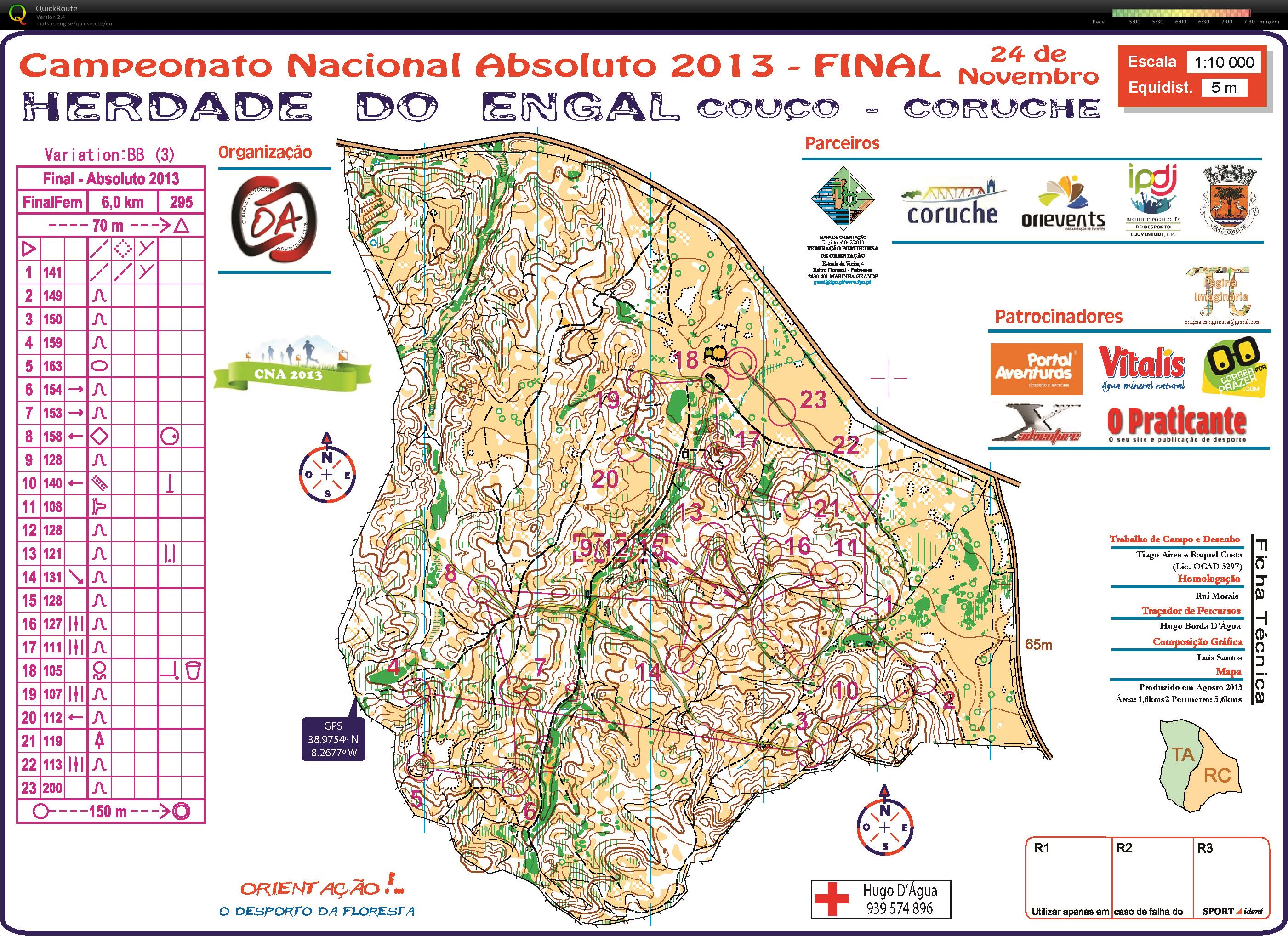 Campeonato Nacional Absoluto - final (25-11-2013)